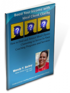 ideal client clarity, free workbook ideal client
