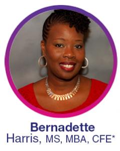 Bernadette Harris, MS, MBA, CFE