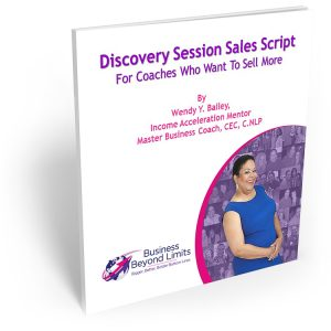 Discovery Session Sales Script