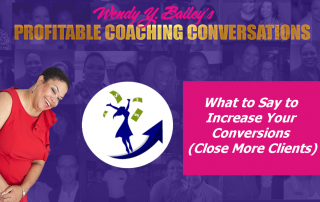 wendy y bailey, experience, sales coaching